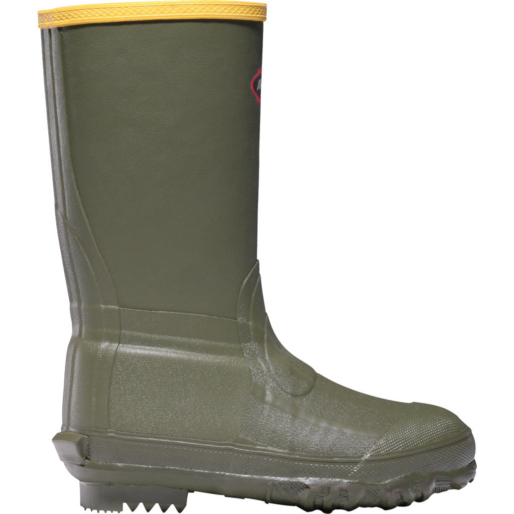 Lacrosse Lil Burly Youth Boot Green 4 - Outdoor Solutions And Services