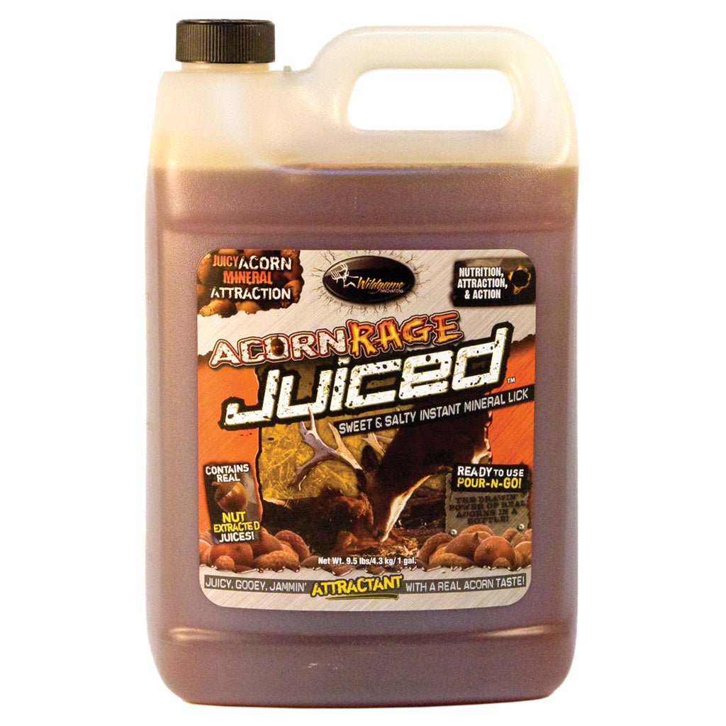 Wildgame Acorn Rage Juiced 1 gal. - Outdoor Solutions And Services Crack In A Sack Oss Feed