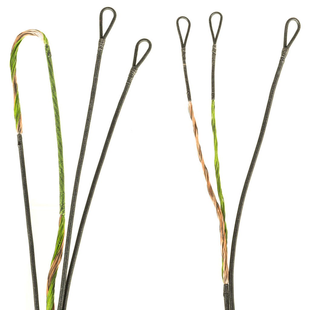 FirstString Premium String Kit Green-Brown Mathews Z7 - Outdoor Solutions And Services Crack In A Sack Oss Feed