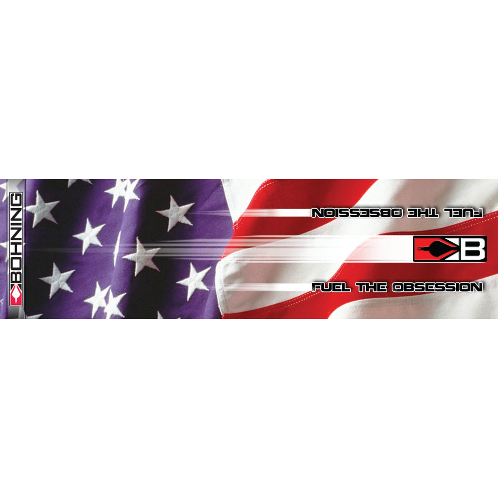 Bohning Hd Arrow Wraps Stars And Stripes 4 In. 13 Pk. - Outdoor Solutions And Services