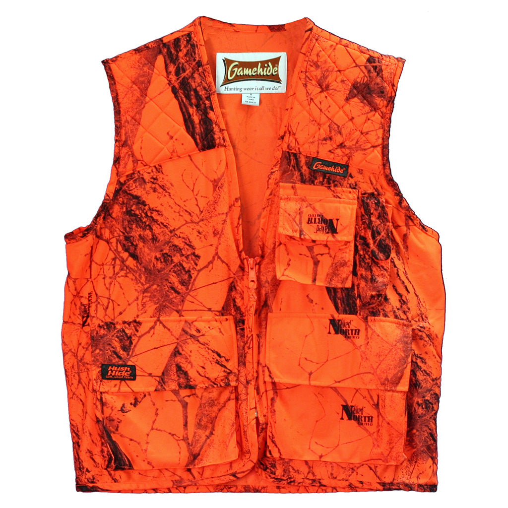 Gamehide Sneaker Big Game Vestblaze Camouflage Large - Outdoor Solutions And Services Crack In A Sack Oss Feed