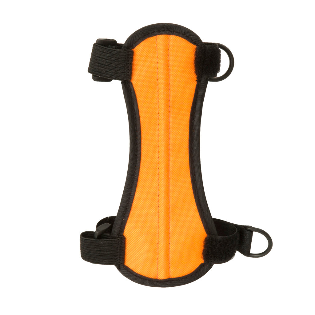 October Mountain Arm Guard Orange - Outdoor Solutions And Services Crack In A Sack Oss Feed