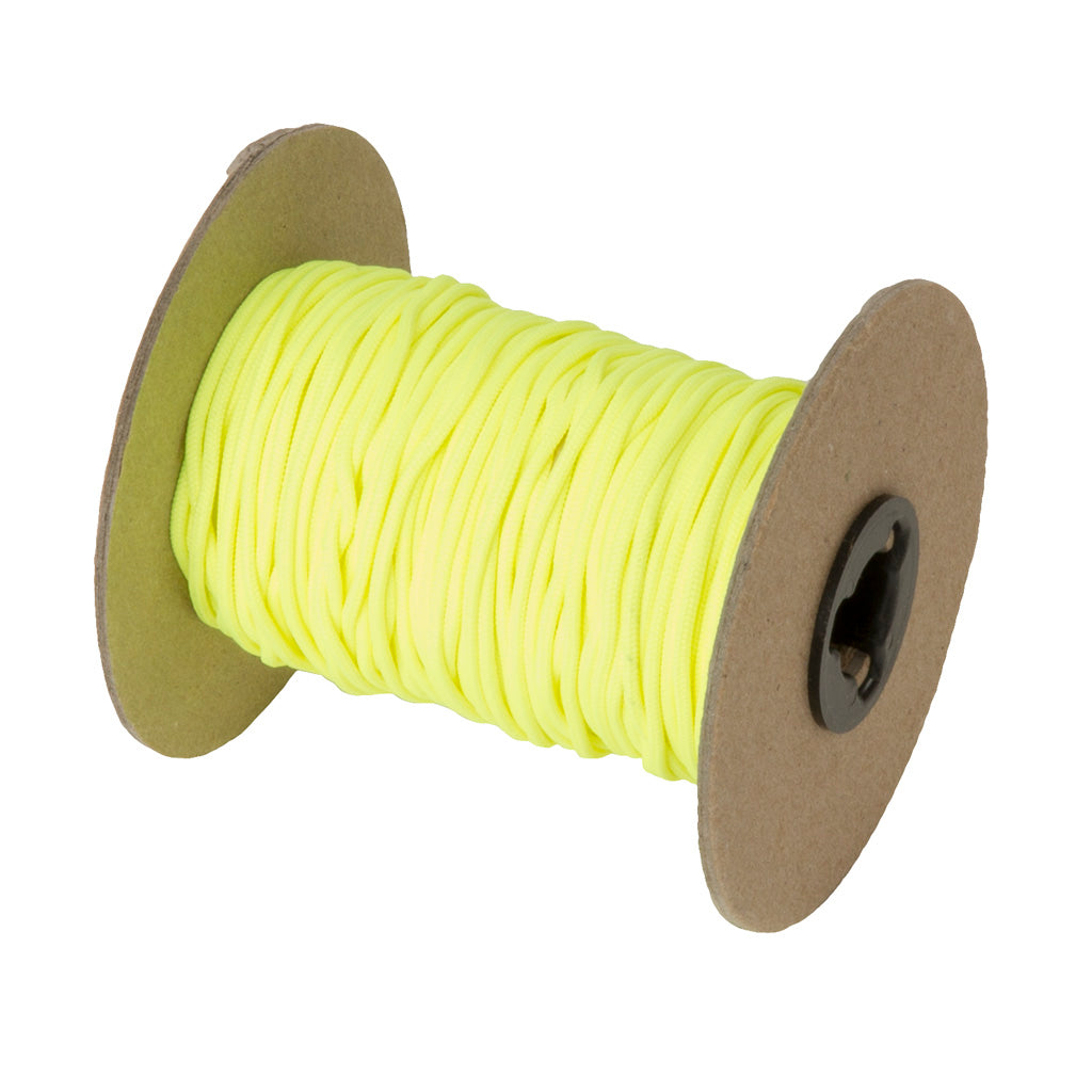 October Mountain Release Loop Fluorescent Yellow 250 Ft. - Outdoor Solutions And Services