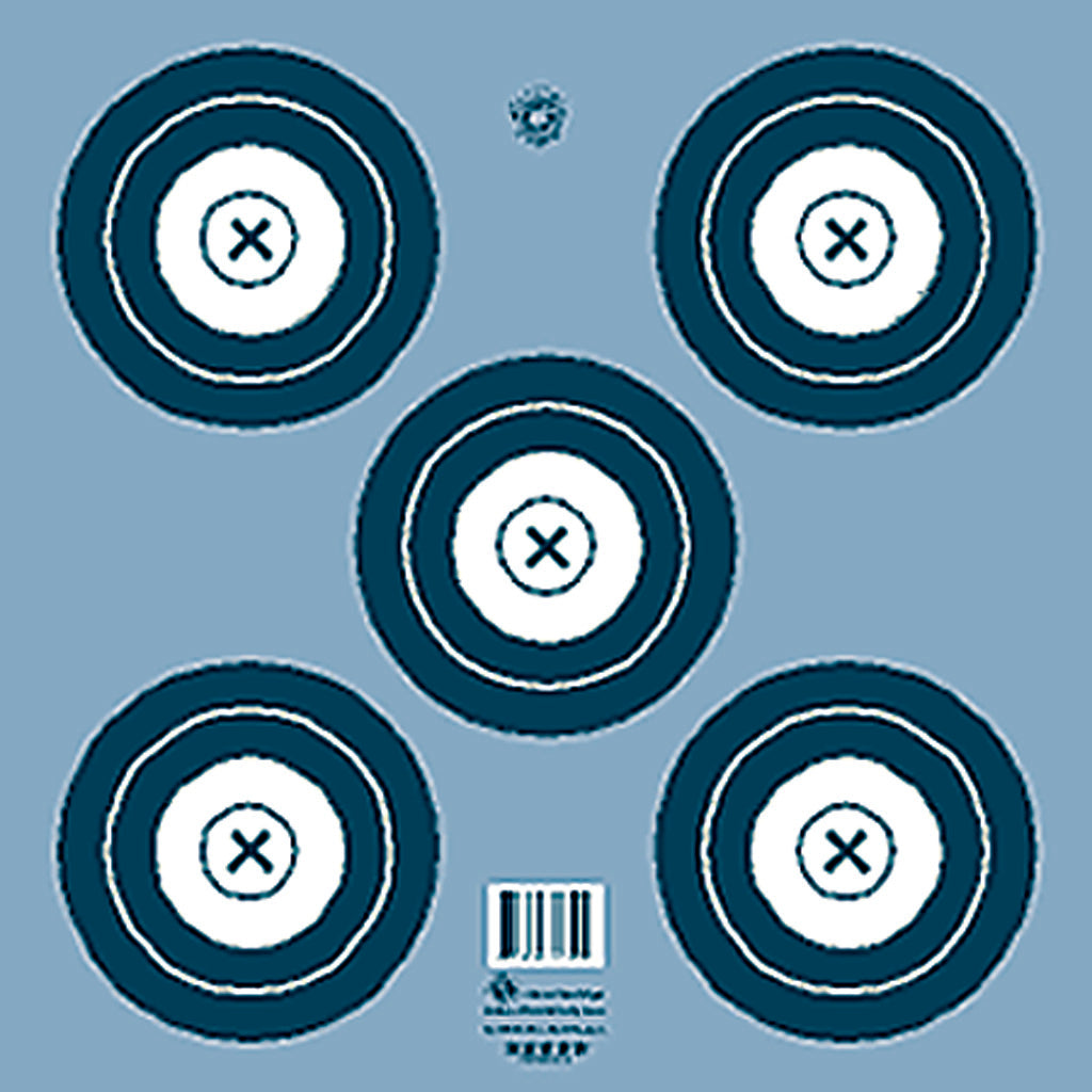 Maple Leaf Target Face Nfaa Indoor 5-spot 100 Pk. - Outdoor Solutions And Services