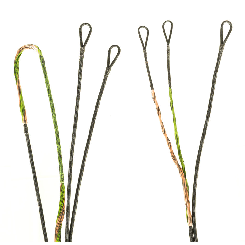 FirstString Premium String Kit Green-Brown BT Destroyer - Outdoor Solutions And Services Crack In A Sack Oss Feed