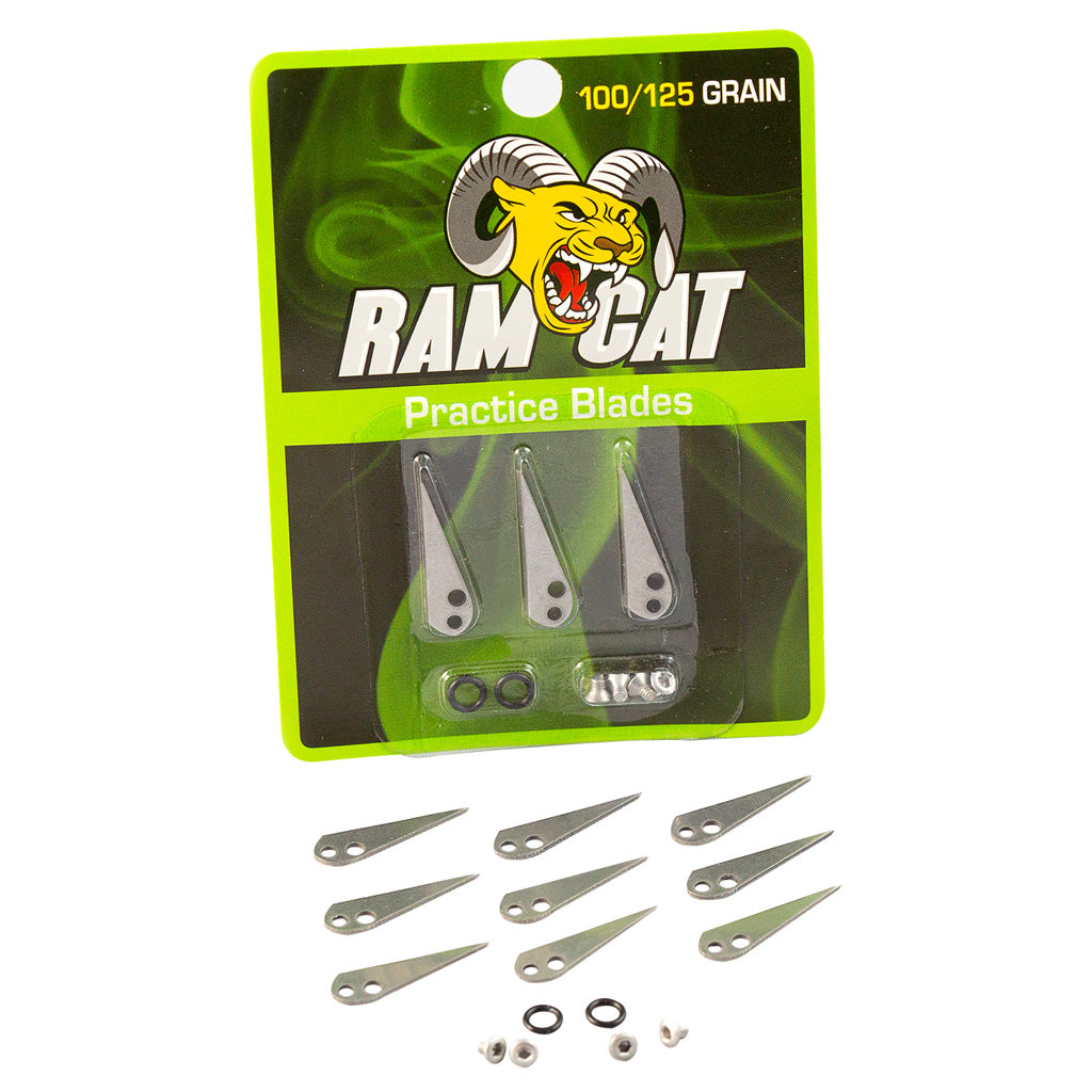Ramcat Broadhead Practice Blades 100-125gr. 9pk - Outdoor Solutions And Services Crack In A Sack Oss Feed