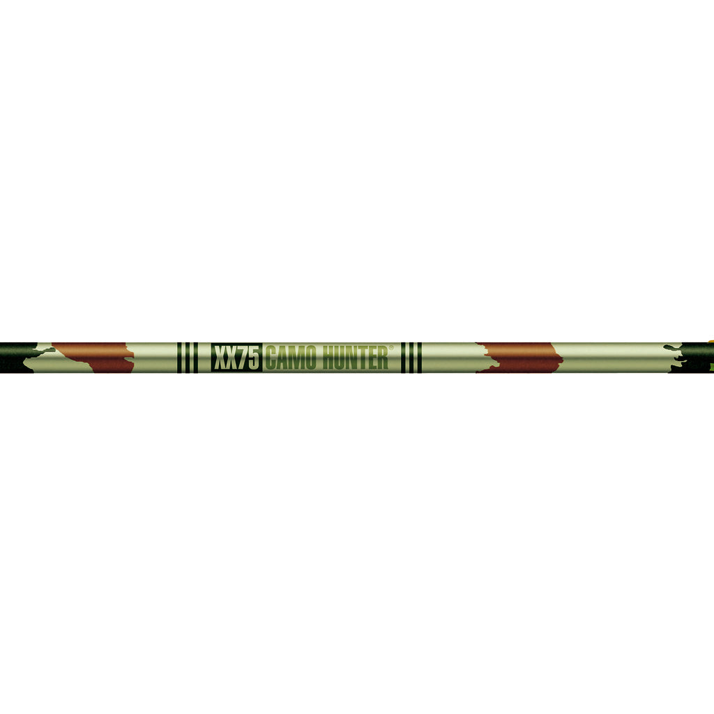 Easton Camo Hunter XX75 Shafts 2317 1 doz. - Outdoor Solutions And Services Crack In A Sack Oss Feed