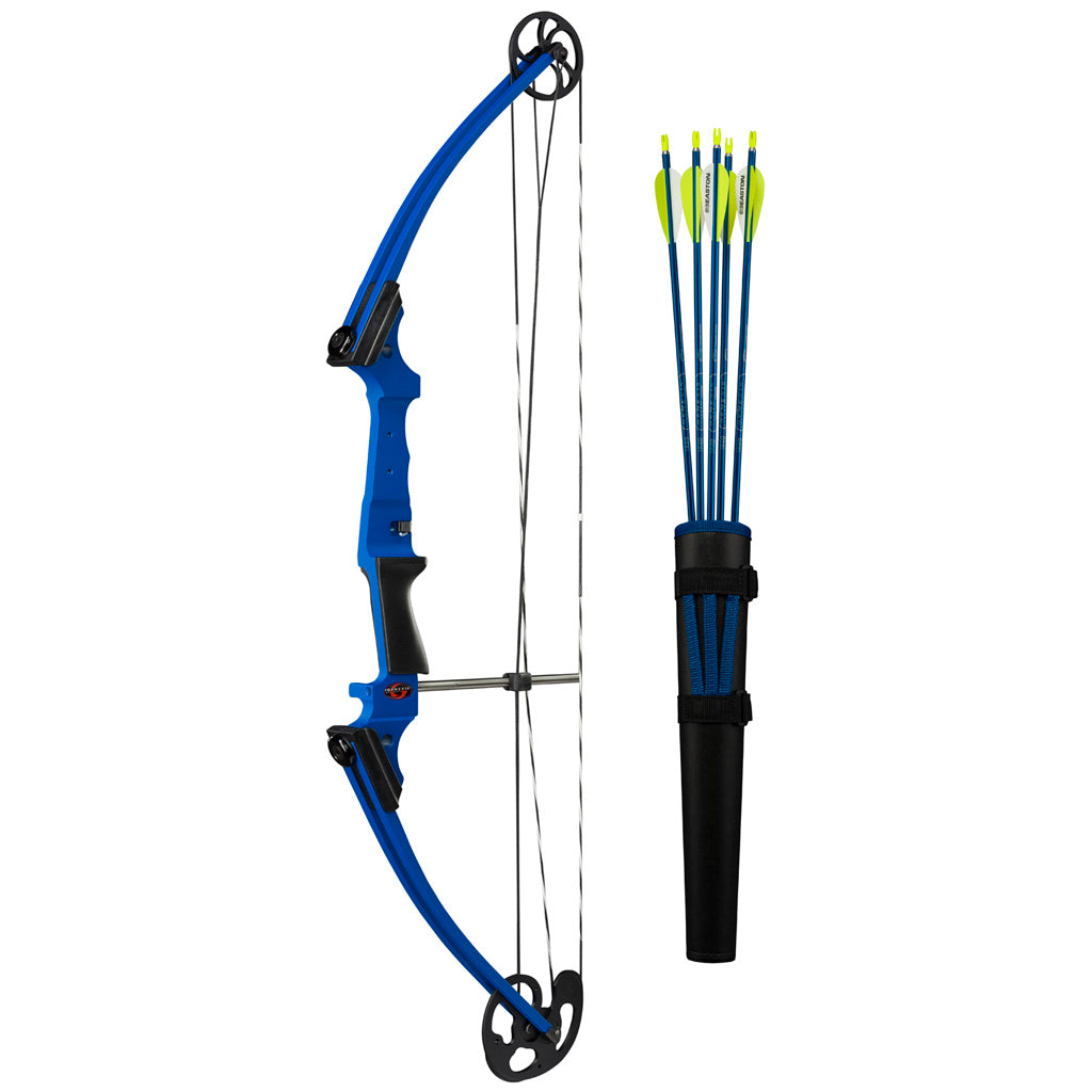 Genesis Bow Set Blue LH - Outdoor Solutions And Services Crack In A Sack Oss Feed