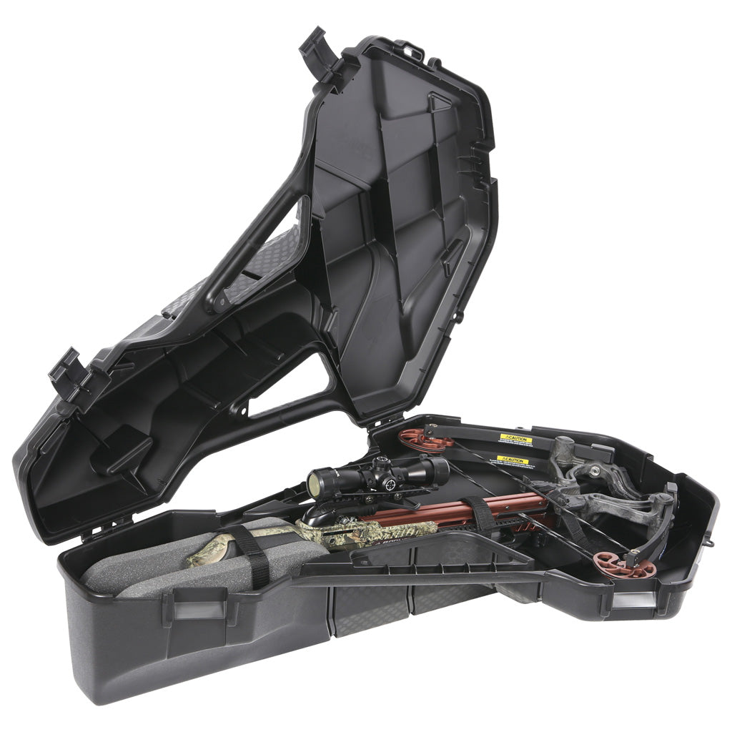 Plano Spire Crossbow Case Black Compact - Outdoor Solutions And Services Crack In A Sack Oss Feed