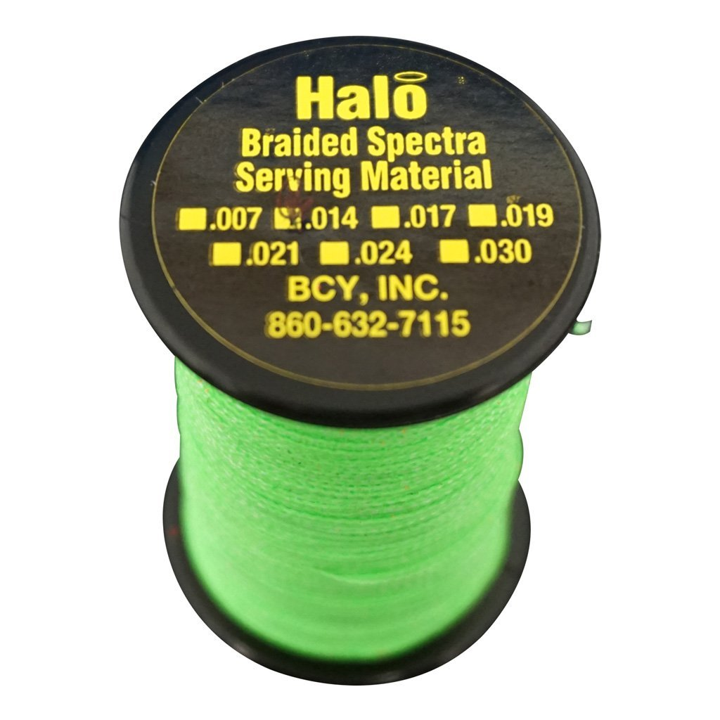 Bcy Halo Serving Neon Green .014 120 Yds. - Outdoor Solutions And Services