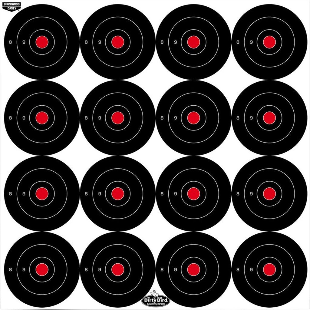Birchwood Casey Dirty Bird Target Bullseye 3 In. 12 Pk. - Outdoor Solutions And Services