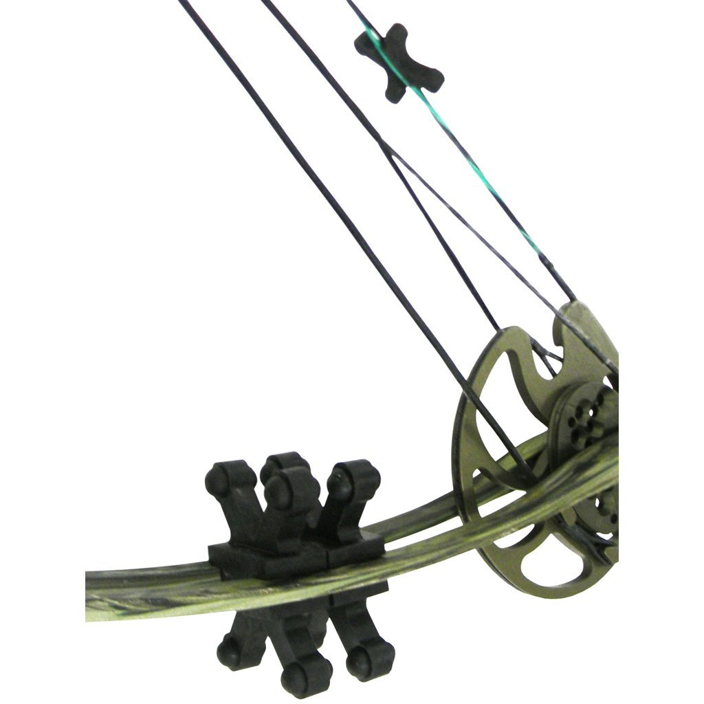 Bowjax Revelation Limb Dampeners Black 11-16 In. 4 Pk. - Outdoor Solutions And Services