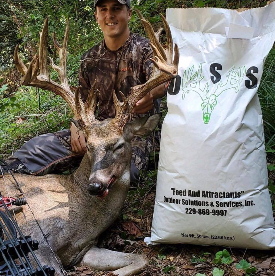 Deer Feed/Protein - OSS Protein Feed - Outdoor Solutions And Services