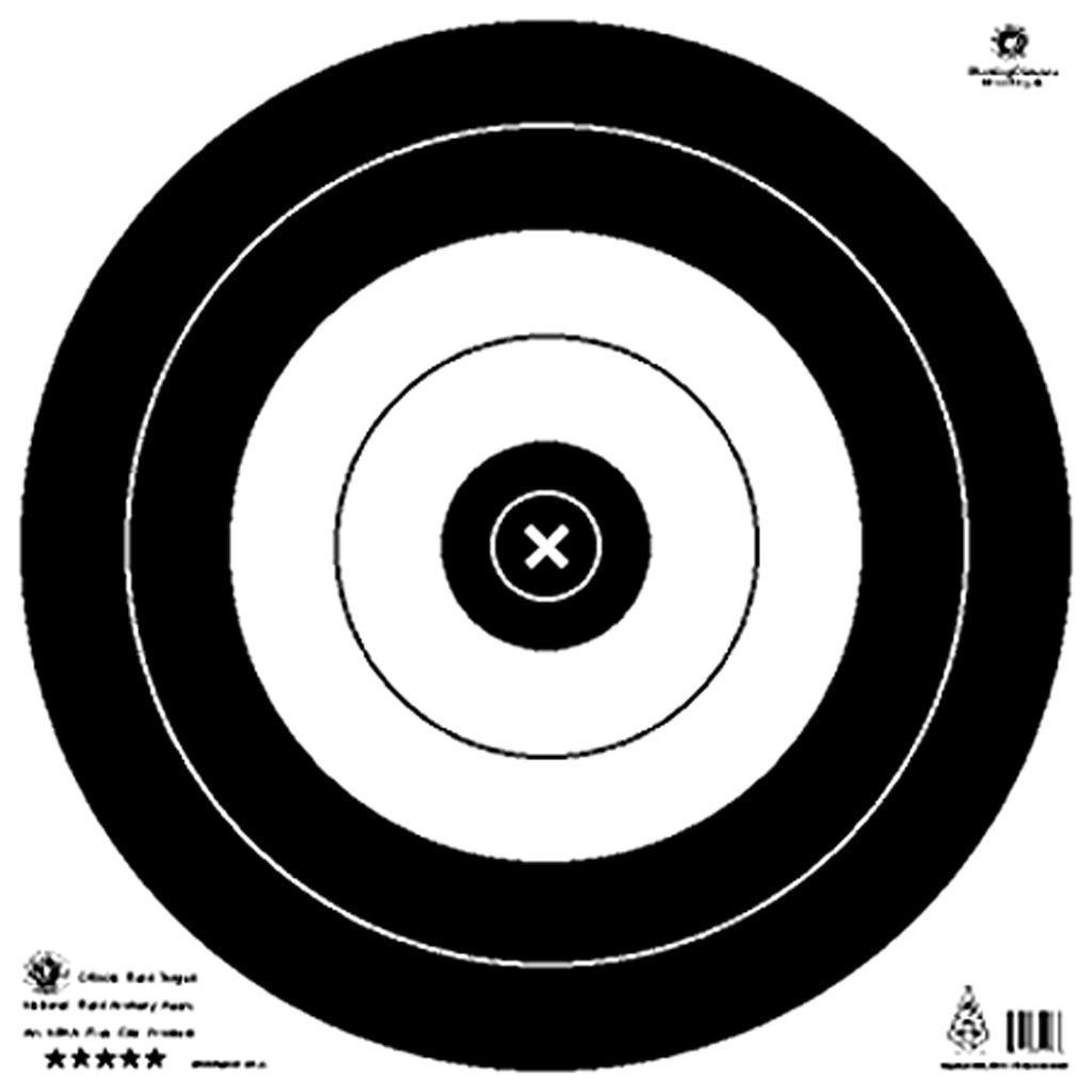 Maple Leaf Target Face Nfaa Field 50 Cm. 25 Pk. - Outdoor Solutions And Services