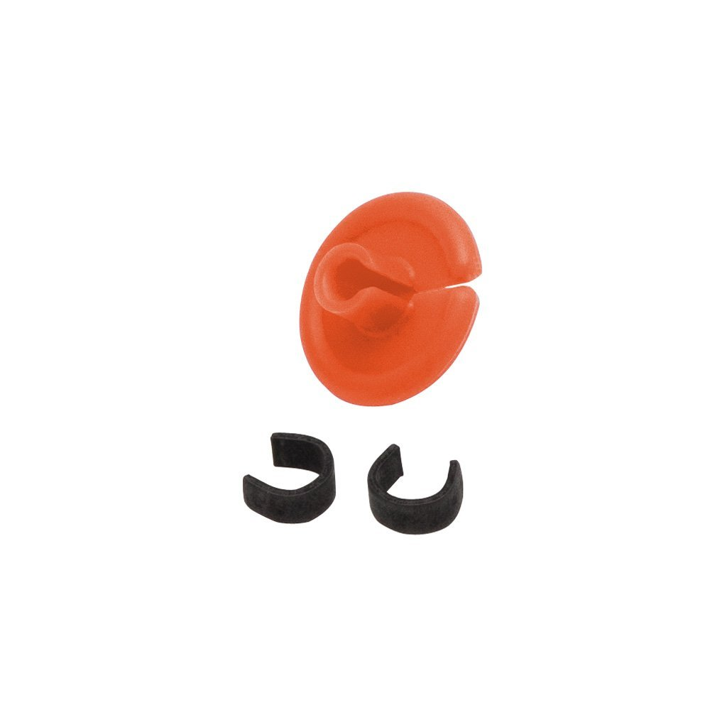 October Mountain String Love 2.0 Kisser Button Orange 25 Pk. - Outdoor Solutions And Services
