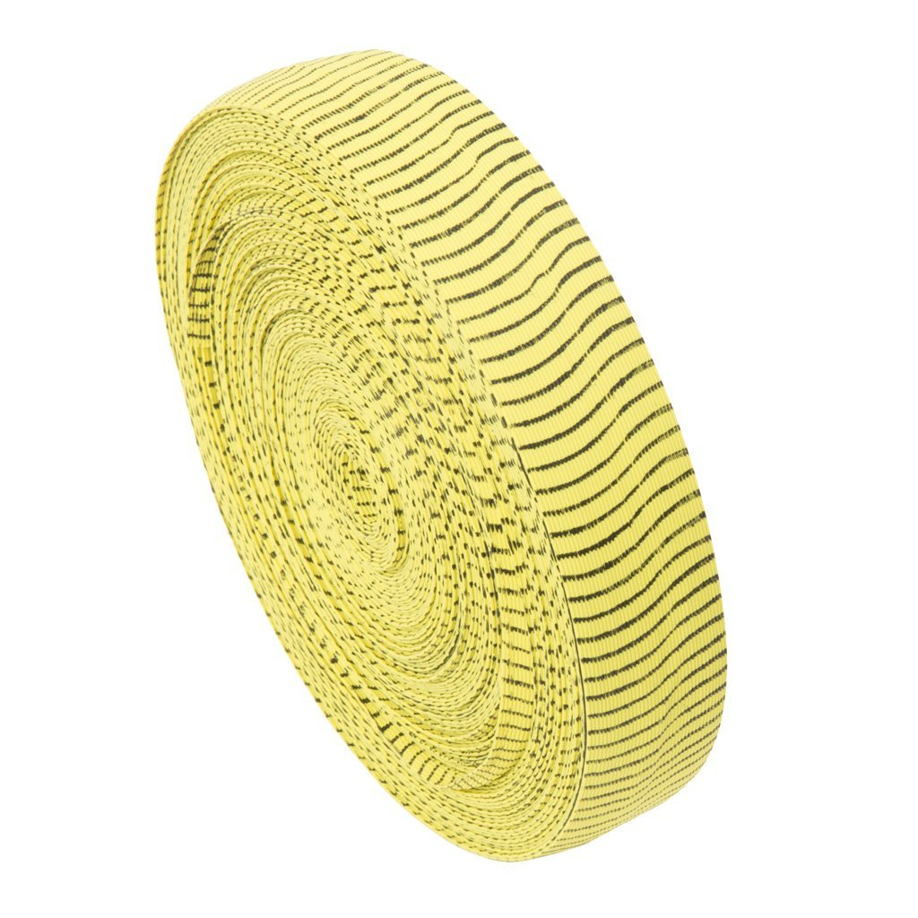 October Mountain Vibe String Silencers Yellow-black 85 Ft. - Outdoor Solutions And Services
