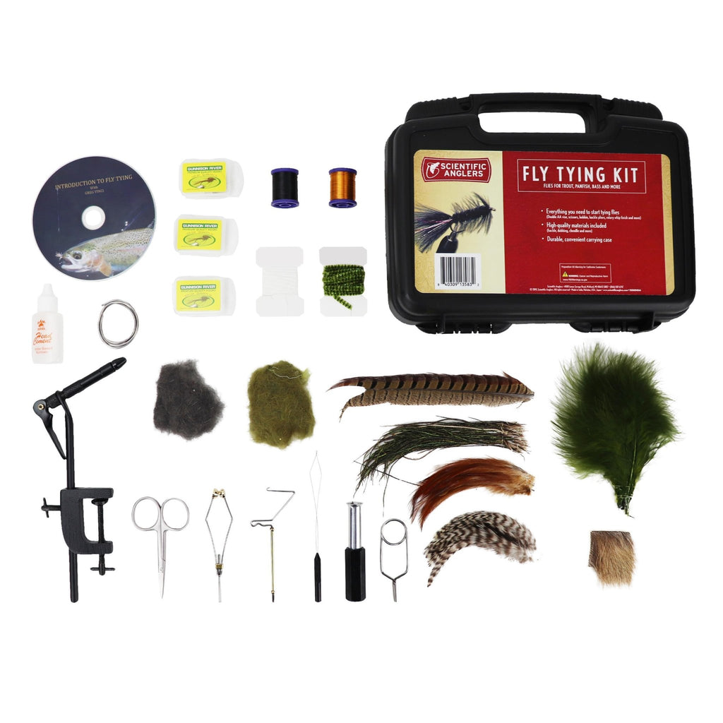 Scientific Anglers Deluxe Fly Tying Kit - Outdoor Solutions And Services