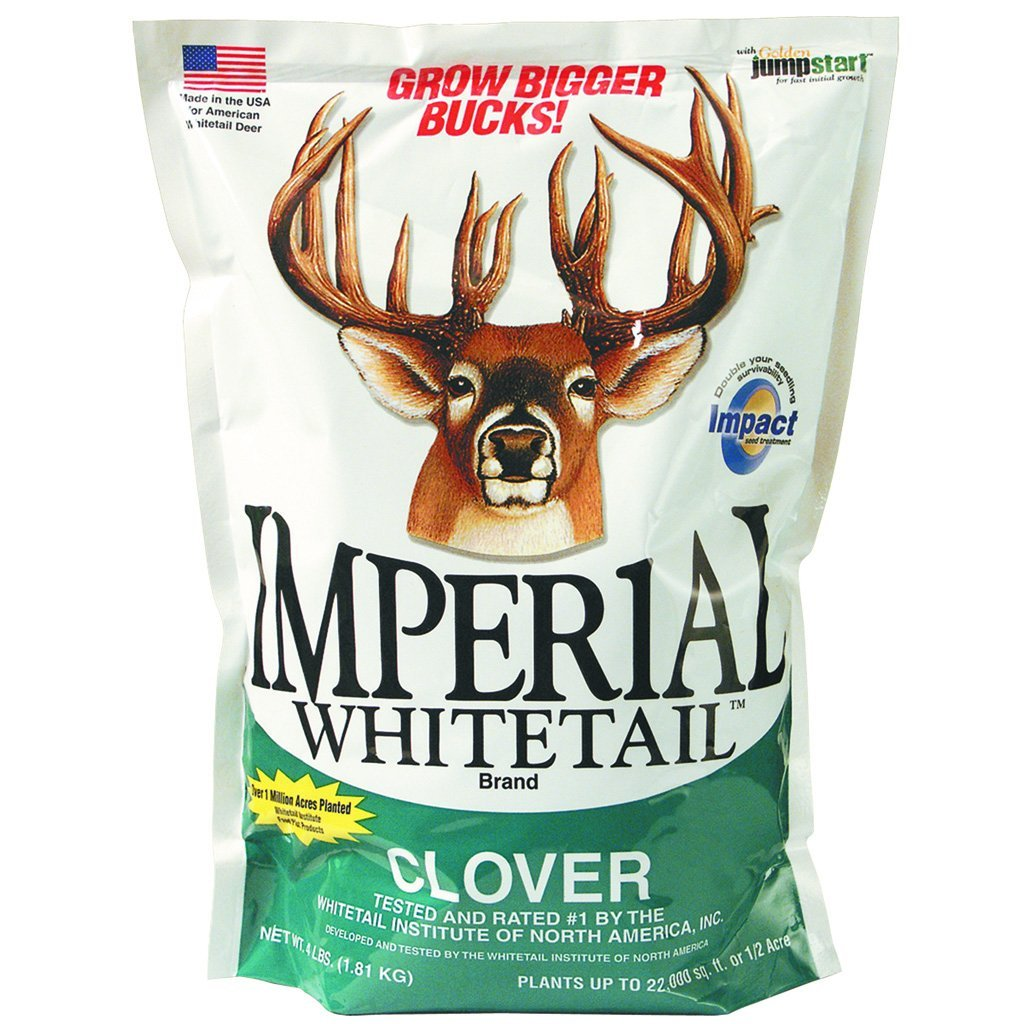 Whitetail Institute Imperial Seed Whitetail Clover 18 Lb. - Outdoor Solutions And Services