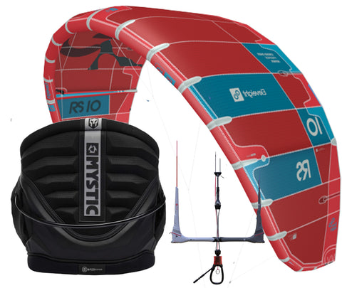 Snowkite paket, Eleveight RS + Mystic Warrior