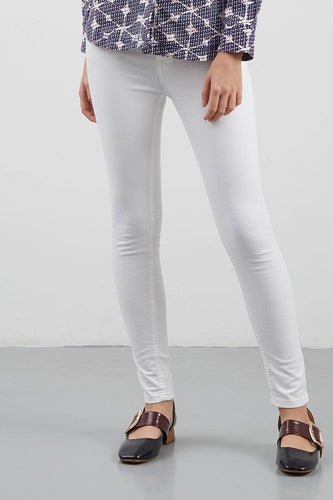 Mandy White Jeans - 293261  - Point One