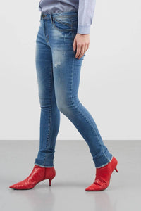 Mandy Sprayed Midrise jeans - 295161  - Point One