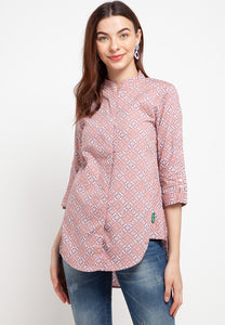 ARIANA Heritage Pink Blouse 390481