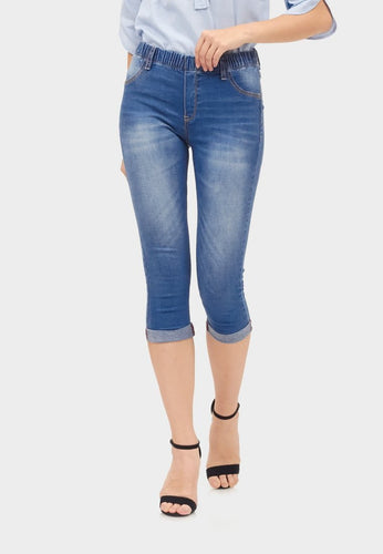 Sydney Cropped stocking Jeans - 298165  - Point One