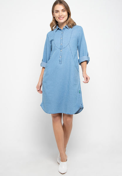 Desmond Denim Dress - 381681
