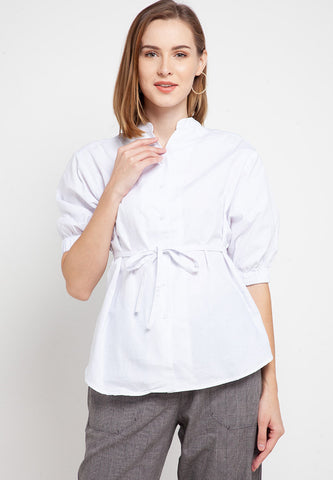 DEVANY White Blouse 388481