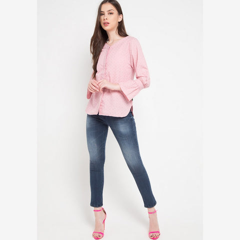 DOLORES Pink Blouse - 387081