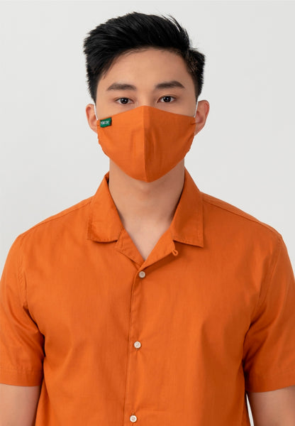 Point One Edvin Orange Sky Inc. Facs Mask
