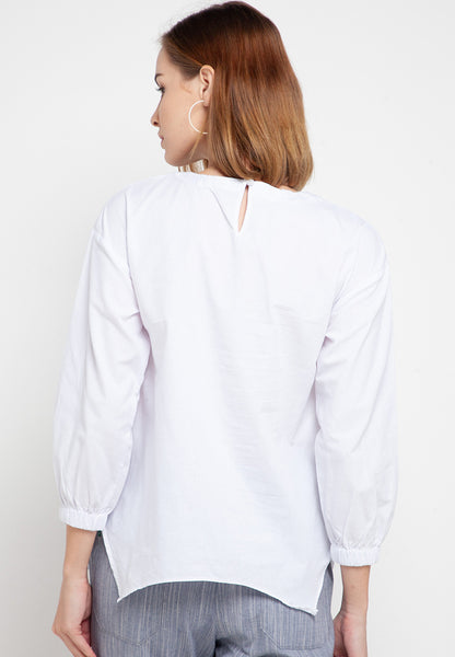 FARAH White Blouse 388681