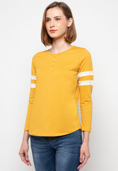 Firza Long Tees Yellow - 391821