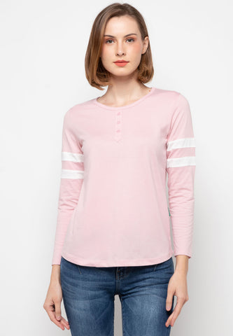 Firza Long Tees Pink - 391721