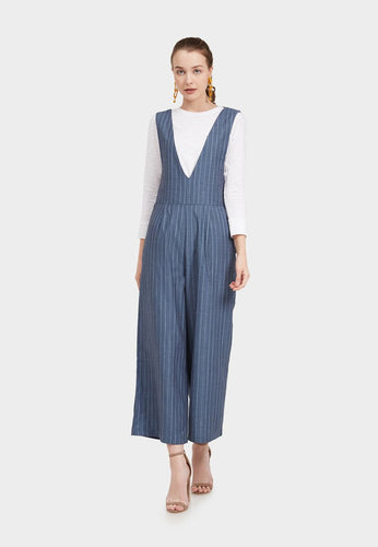Franchesa Stripe Overall - 365977  - Point One
