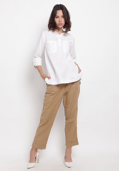 FRANCINE White Blouse 395281