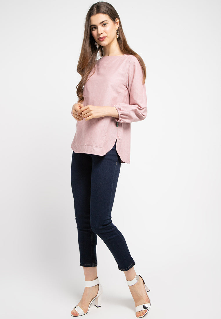 FRIDA Blouse Pink - 393381