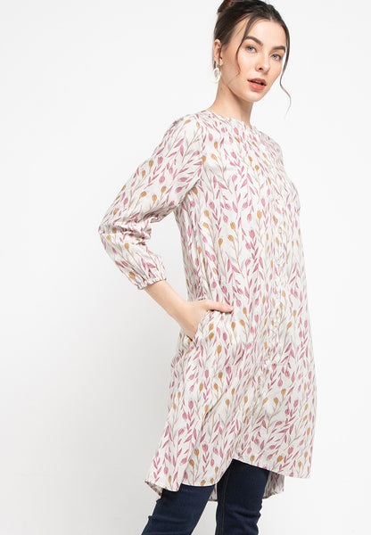 ICASIA Floral Dress Pink 392673