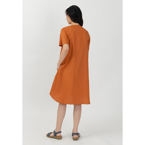 Point One Inge Orange Sky Dress