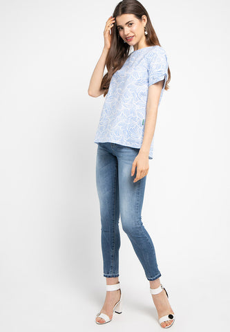 JOSELYN Blouse Blue - 392880