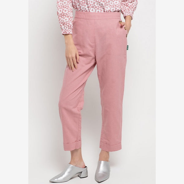 JULIA Relaxed Pant Pink - 308661