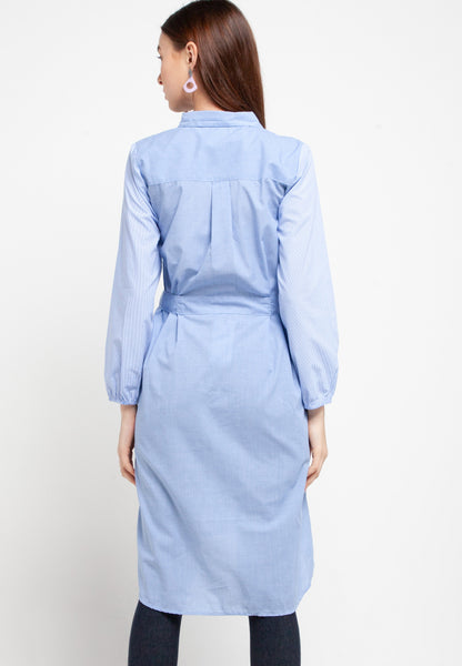 MARGIE Blue Dress 387881