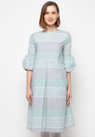 MIKHA Stripe Dress - 395773