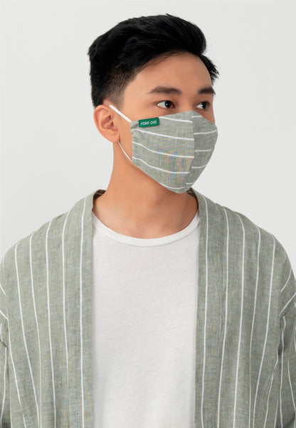 Point One Rune Fern Outer Inc. Face Mask