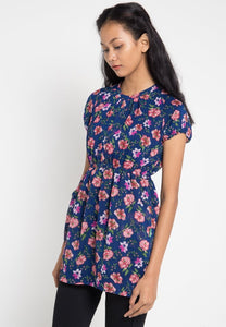 Rachel Dress Navy - 300670  - Point One