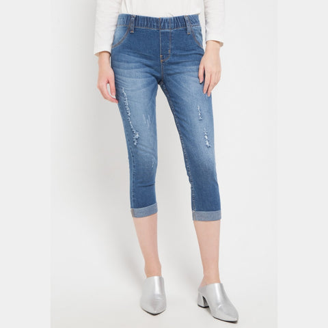 SYDNEY Cropped Jeans - 307565