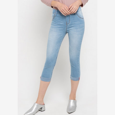 SYDNEY Cropped Light Blue jeans - 307465