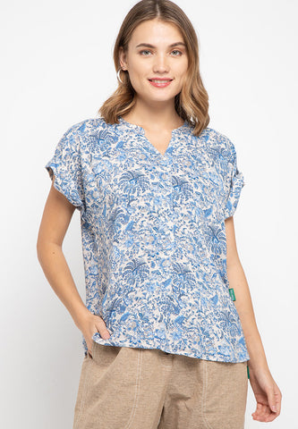 Victonia Floral Blouse - 382280