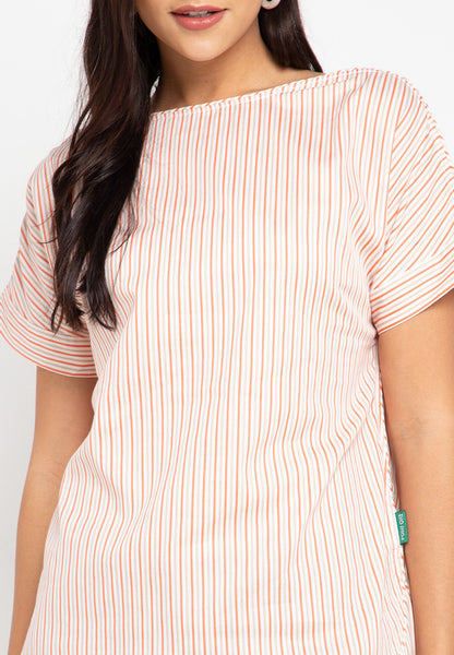 Olena Stripe Blouse - 380180