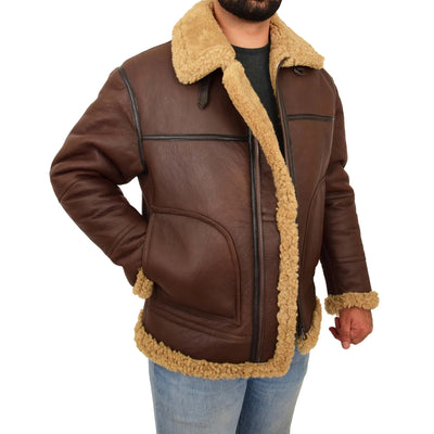 Get Fashionable Collections of Sheepskin Jackets for Men and Women